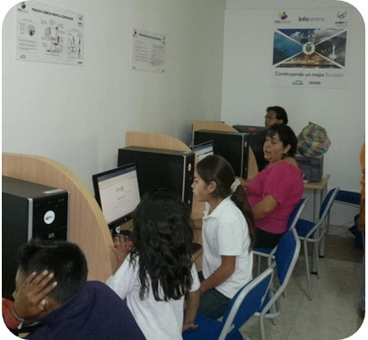 Paco Prieto. Infocentros Ecuador