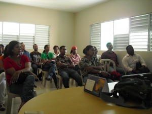 Participantes Seminario CTC El Seibo con Paco Prieto