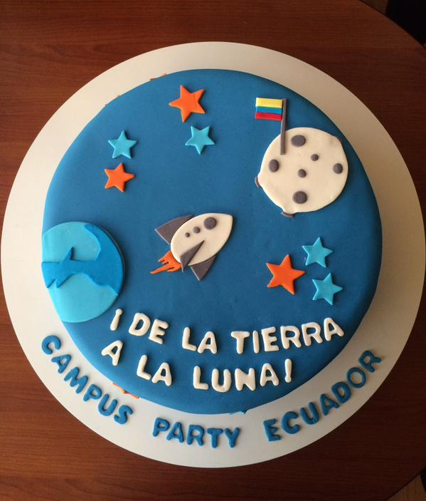 Tarta Campus Party Ecuador