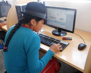 Infocentros Ecuador. Paco Prieto