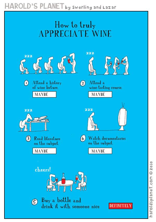 Consejos para apreciar el buen vino by Harold´s Planet