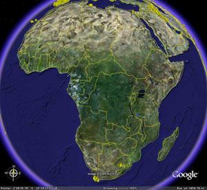 África conectada a través de Google