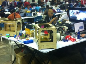 3D Printing Campus Party Quito