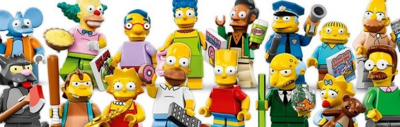 Minifigures Simpsons by Lego