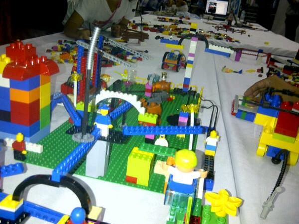 Taller Lego Serious Play en Campus Party Quito 2013