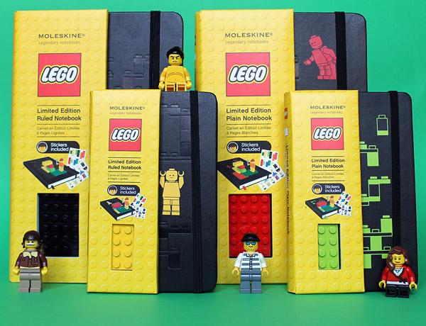 Moleskine Lego Notebooks