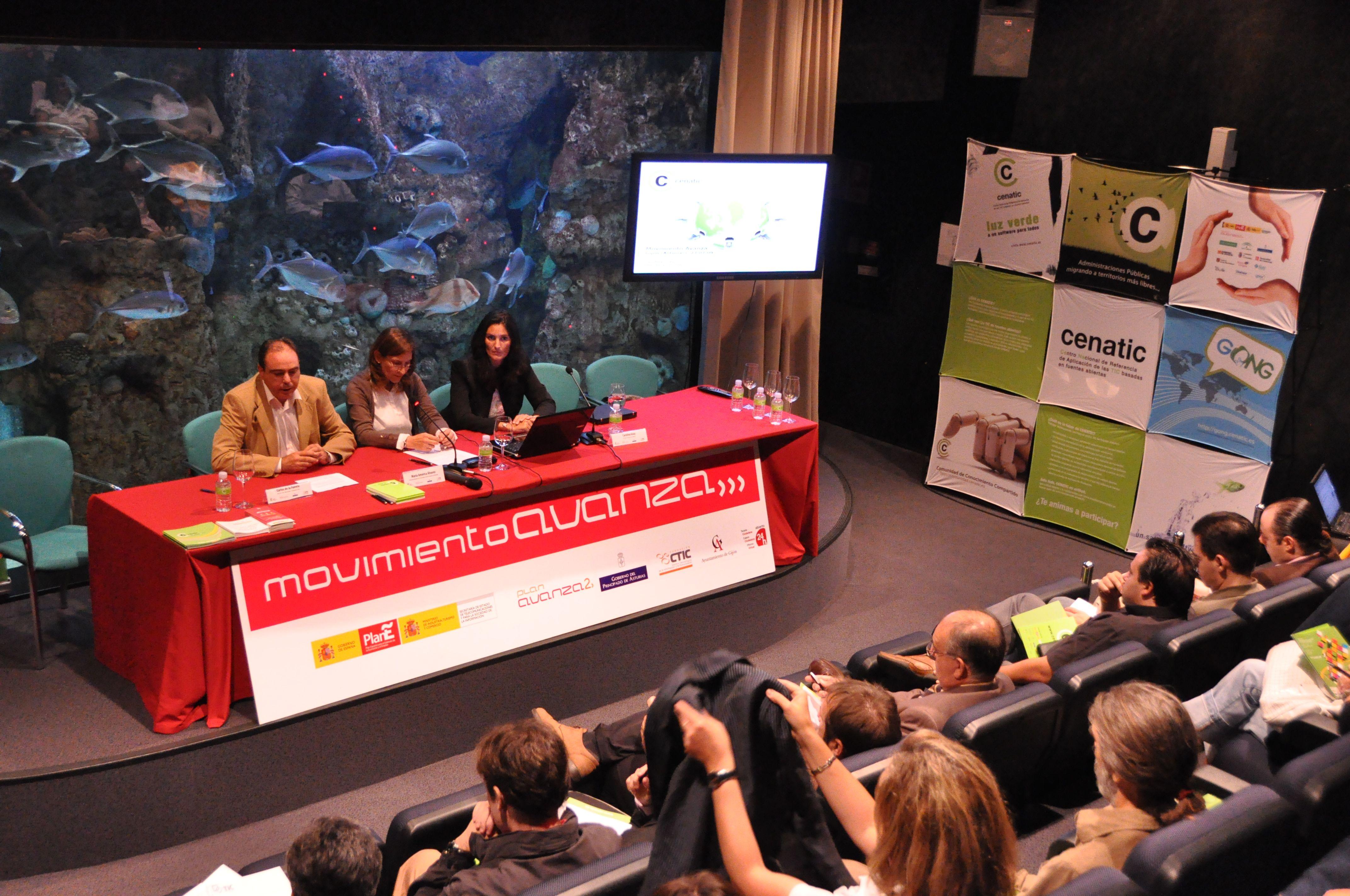 Movimiento Avanza en el Acuario de Gijón
