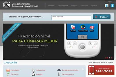 App movil Union Comerciantes Gijon